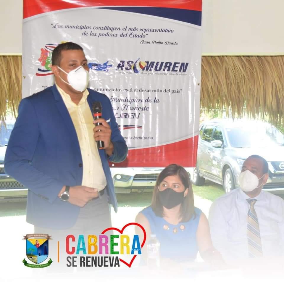 Ing. Marlon Arias, Alcalde Municipal fue elegido como Tesorero de la Asociación de Municipios de la Región Cibao